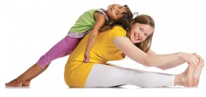 Yoga macht Spaß!
