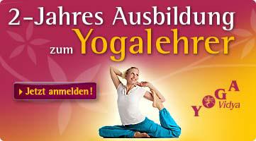 2 jährige Yogalehrer Ausbildung